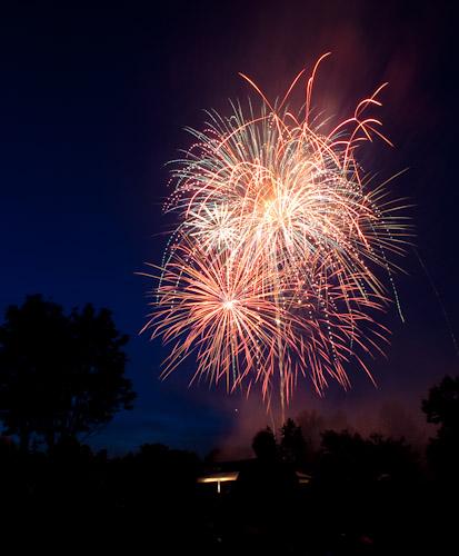 One of the best fireworks shots I've taken evar!